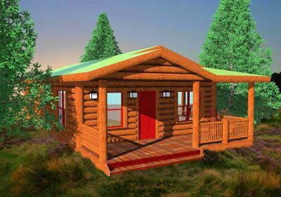 Cabins on Lang Creek S Modular Log Cabins